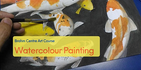 Watercolour Painting Course (Beginner) 水彩画图基础班 - From 16 Jun tickets