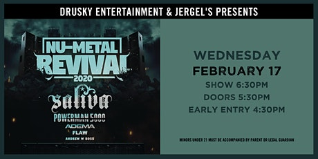Nu-Metal Revival featuring Saliva & Powerman 5000 tickets