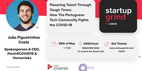 Powering Talent Through Tough Times: The Portuguese Community Fights COVID tickets