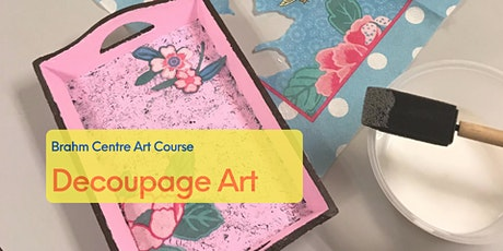 Decoupage Art Course 欧式剪纸装饰 - From 19 Jun tickets