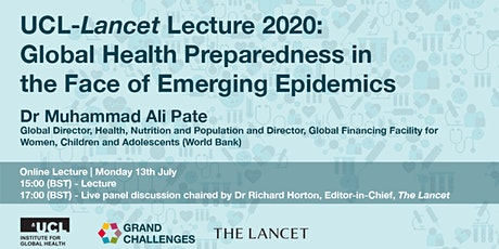 2020 UCL-Lancet Lecture: Global Health Preparedness tickets