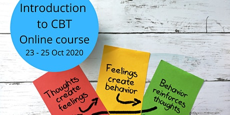 Introduction to CBT : 12 hr Online course, 23 - 25 October 2020 tickets