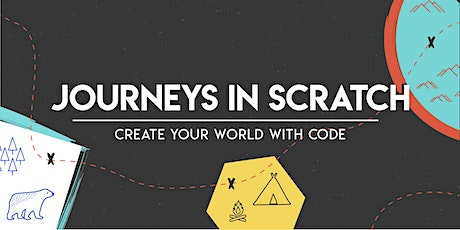 Journeys in Scratch: Create your world with code (Creative Bundle), [Ages 7-10], 13 Jul - 16 Jul Holiday Camp (9:00AM) @ Online tickets