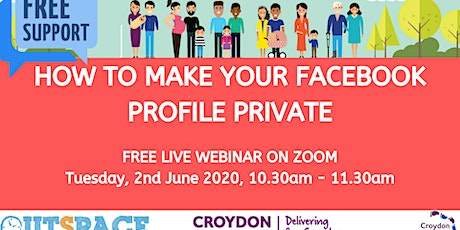 Online Safety - How to make your Facebook profile private on Facebook Tickets