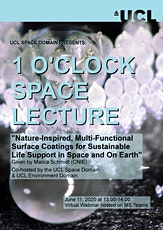 One O'clock Space Webinar tickets