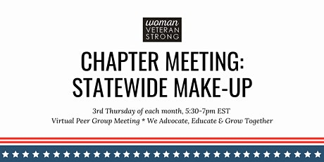 Woman Veteran Strong: Statewide Make-Up tickets