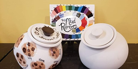 Cookie Jar complete Step by step Pottery Painting Kit tickets