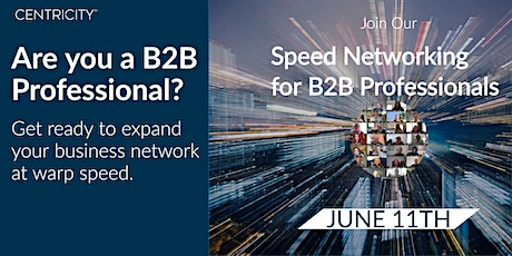 Speed Networking for B2B  Professionals  | North America tickets