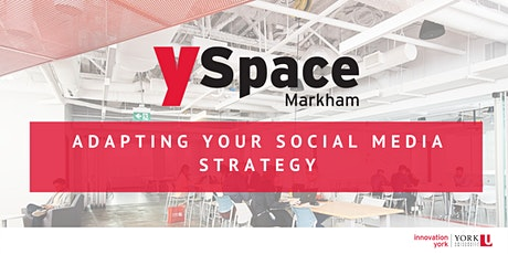 Adapting Your Social Media Strategy tickets