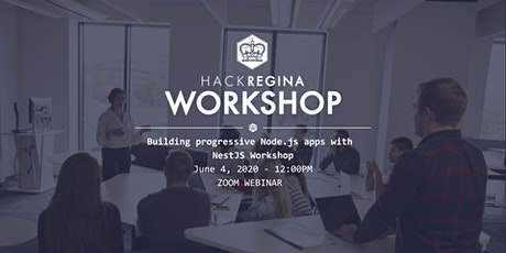Building progressive Node.js apps with NestJS - Dev Workshop tickets