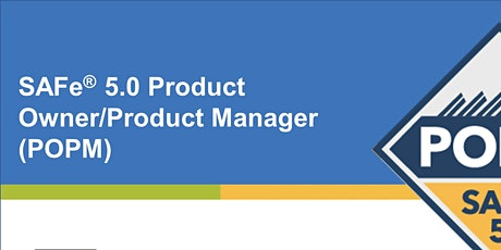SAFe® 5.0 Product Owner/Product Manager tickets