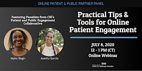 PE Lunchtime Learning: Practical Tips & Tools for Online Patient Engagement tickets
