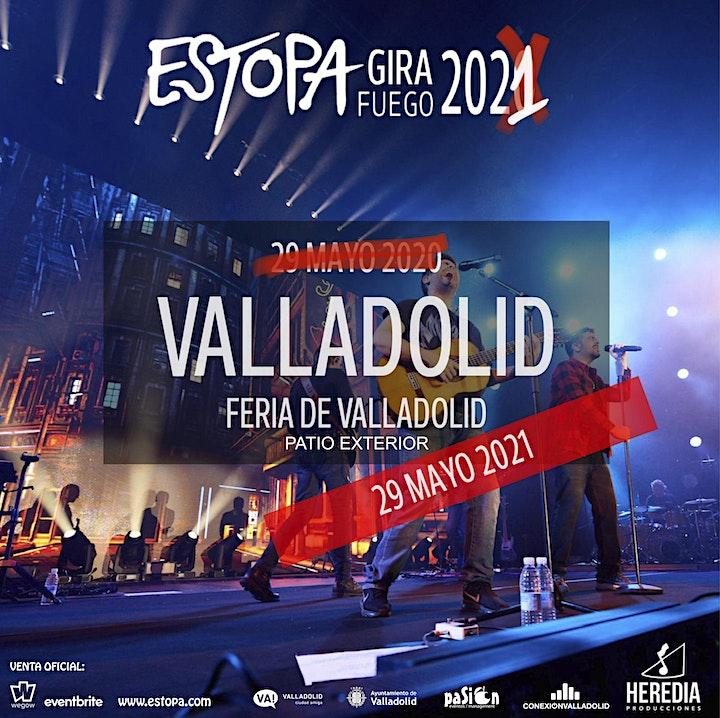 Imagen de ESTOPA presenta Gira Fuego en VALLADOLID