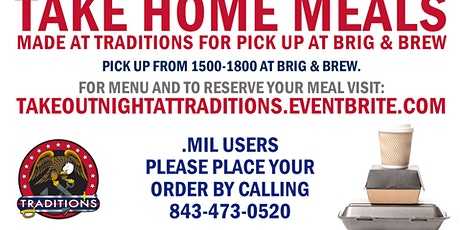 Take-Out Night at Traditions tickets