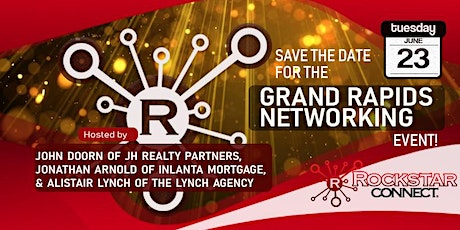 Free Grand Rapids Rockstar Connect Networking Event (June, Michigan) tickets
