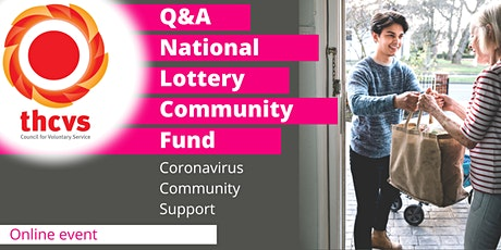 National Lottery Community Fund  Q&A tickets