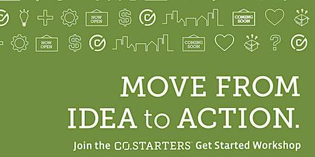 CO.STARTERS Get Started Workshop tickets
