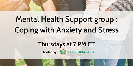 Parent Mental Health Support group : Coping with Anxiety and Stress tickets