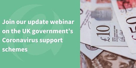 Coronavirus support schemes update webinar tickets