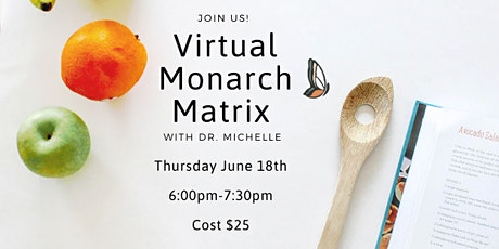 Virtual Monarch Matrix Workshop - June boletos