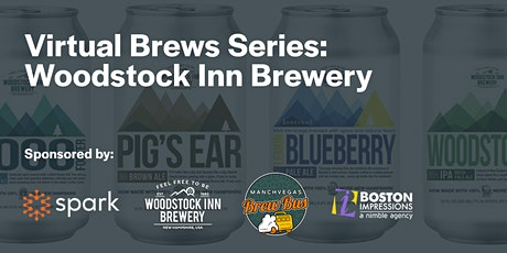 Virtual Brews with Woodstock Inn Brewery - Hosted by Spark Offices tickets