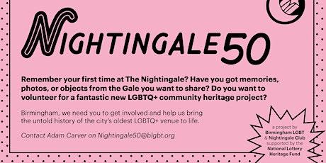 Nightingale50: Examining and Remembering Birmingham's Nightlife tickets