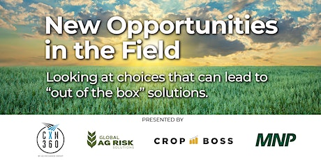 New opportunities in the field - Lunch & Learn tickets