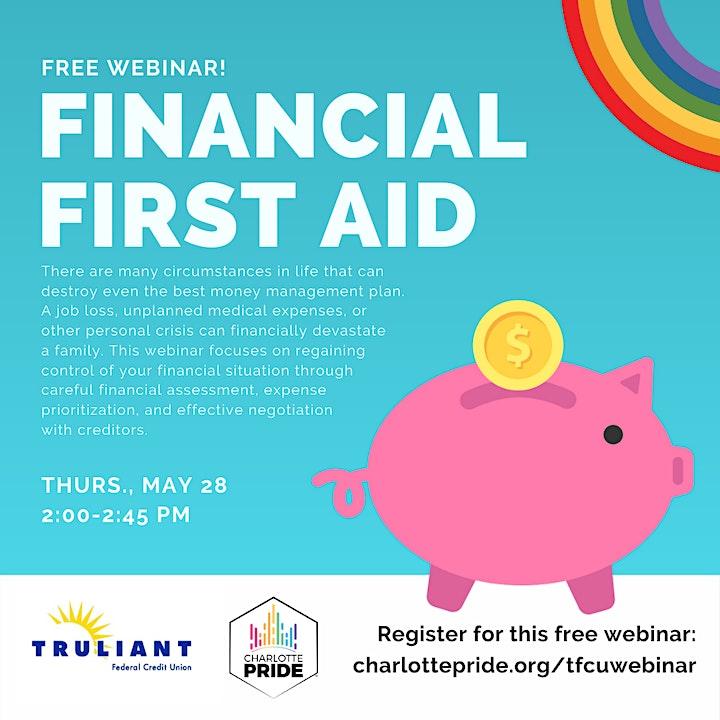Financial First Aid Webinar image