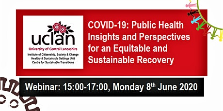 WEBINAR: COVID-19: Public Health Insights and Perspectives for an Equitable tickets