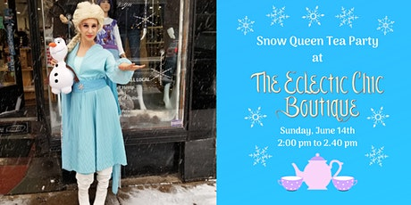 Virtual Snow Queen Tea Party tickets