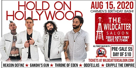 Carmen's Birthday Bash with Hold On Hollywood! tickets