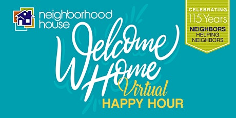 Welcome Home Virtual Happy Hour Fundraiser tickets