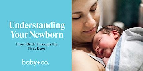Understanding Your Newborn Virtual Class tickets