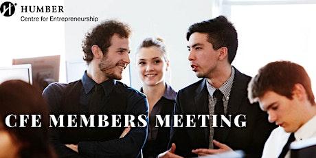 CfE Members Meeting- VIRTUAL tickets