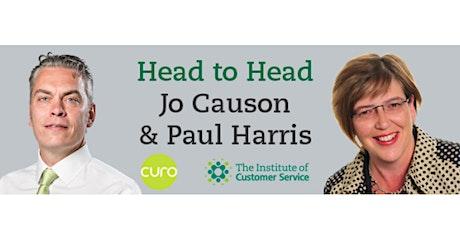 Webinar: Head to Head with Paul Harris (Curo) tickets