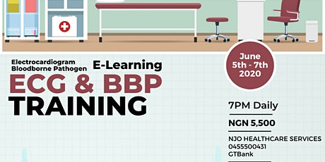 ECG/BBP E-Learning Training tickets