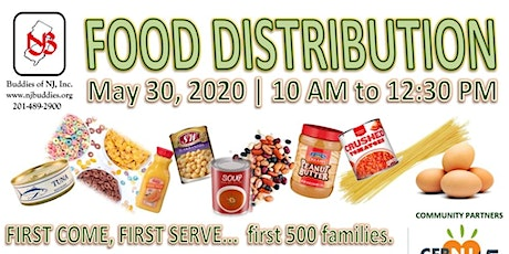 FOOD DISTRIBUTION in North Jersey tickets