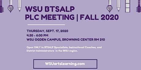WSU BTSALP PLC Meeting | Fall 2020 tickets