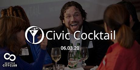 Seattle CityClub Civic Cocktail: Mayor Jenny Durkan + Paul Guppy - June 3 tickets