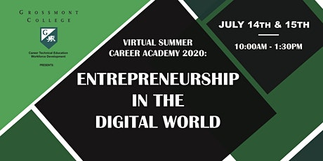 Grossmont College 2020 Virtual Summer Career Academy tickets