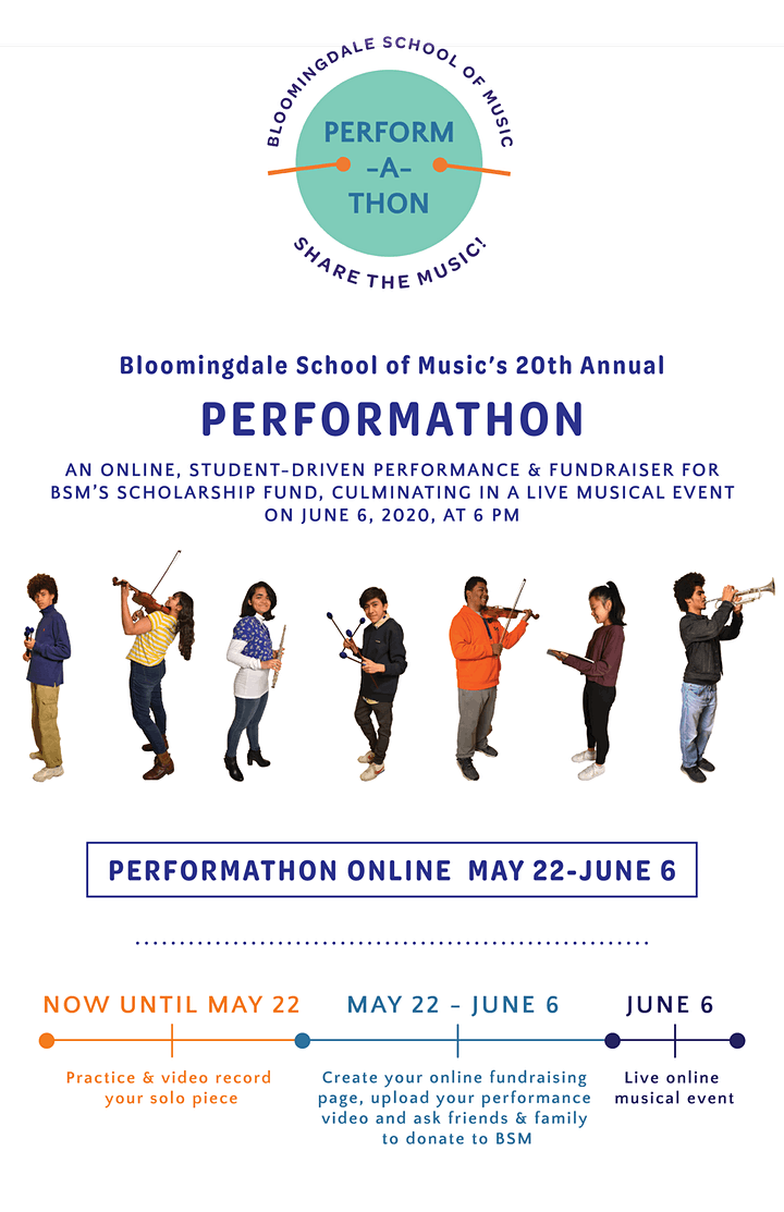 Bloomingdale School Music's 20th Annual PERFORMATHON Live Concert image