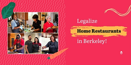Virtual Rally: Legalize Home Cooking in Berkeley! tickets