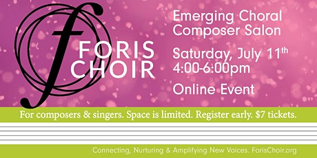 Emerging Choral Composer Salon - July tickets