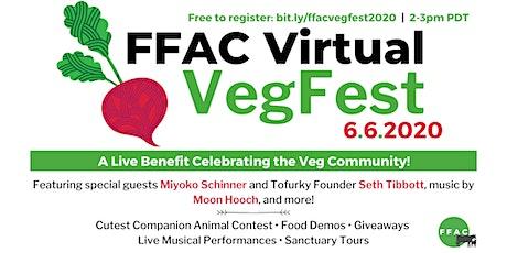 FFAC's Virtual VegFest tickets