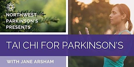 NW Parkinson's Tai Chi billets