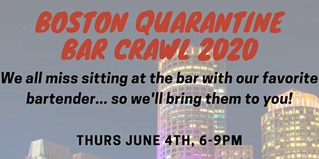 Quarantine Bar Crawl 2020 tickets