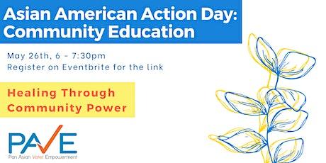 AAA Day 2020 Community Ed: Healing Through Community Power tickets