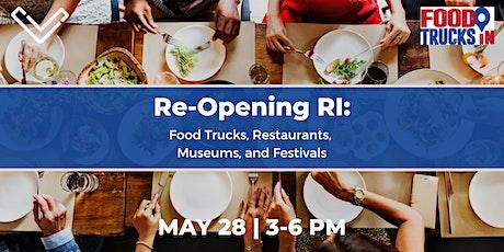 Virtual Venture Café: Reopening Rhode Island tickets