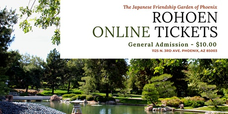 Garden Admission tickets
