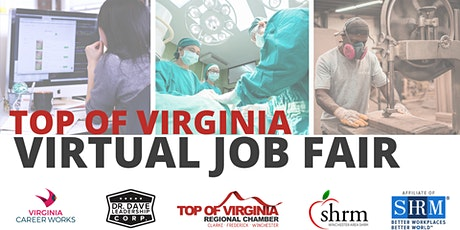 Top of Virginia - Virtual Job Fair (EMPLOYERS ONLY) tickets
